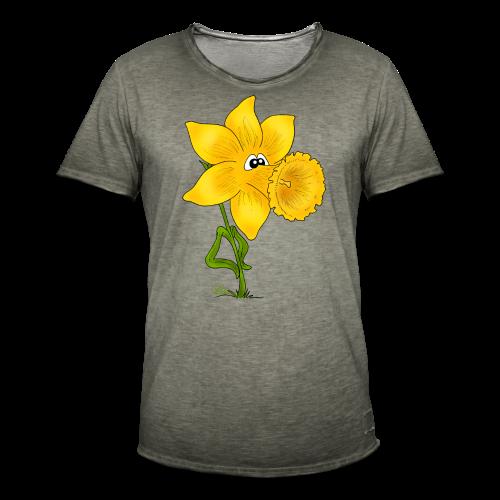Ornella Osterglocke (freche Farben) - Männer Vintage T-Shirt