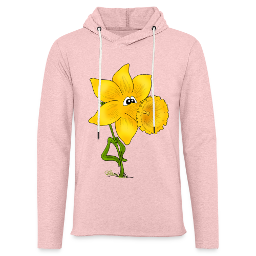 Ornella Osterglocke (freche Farben) - Leichtes Kapuzensweatshirt Unisex