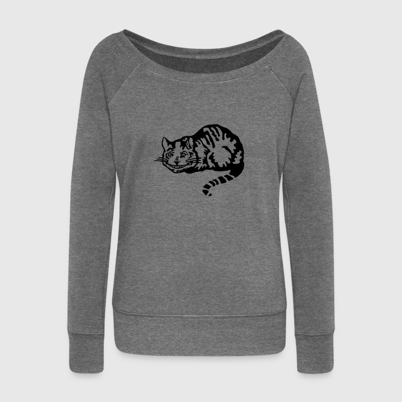 Cheshire cat Sweat-shirts - Pull Femme col bateau de Bella