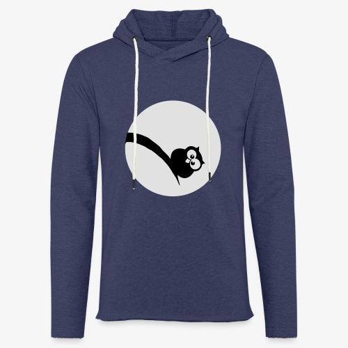 Owl Grubość w świetle księżyca Bluzy - Leichtes Kapuzensweatshirt Unisex