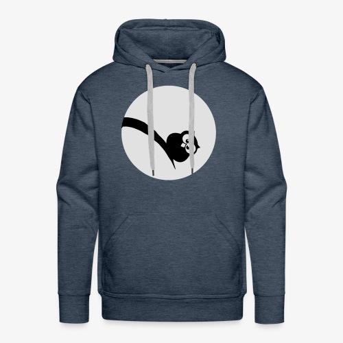 Owl Grubość w świetle księżyca Bluzy - Männer Premium Hoodie