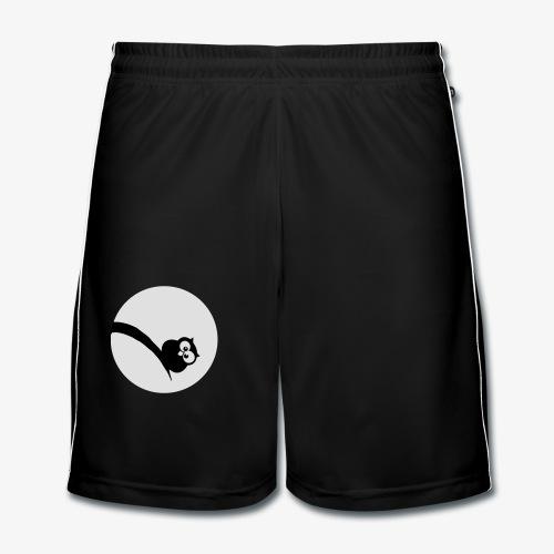 Owl Grubość w świetle księżyca Bluzy - Männer Fußball-Shorts