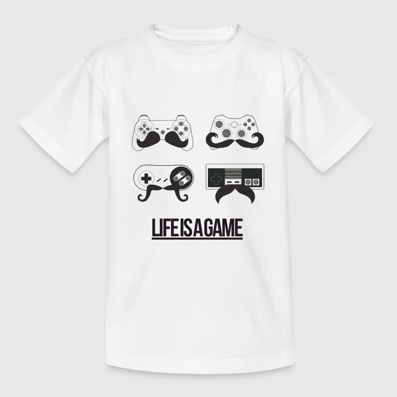 Life is a Game Shirts - Kids' T-Shirt