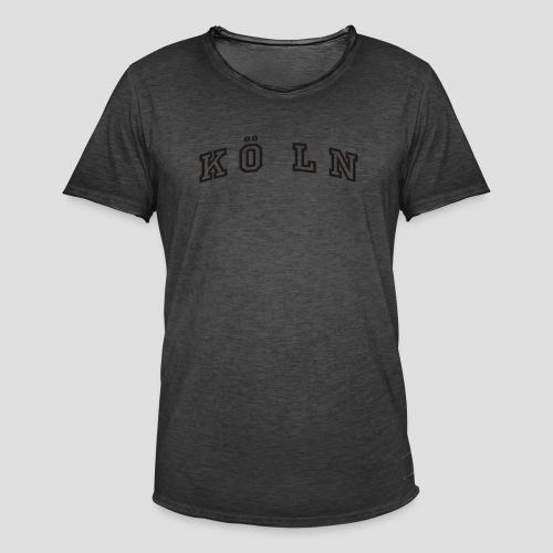 Die Köln Jacke - Männer Vintage T-Shirt