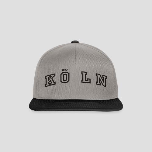 Die Köln Jacke - Snapback Cap