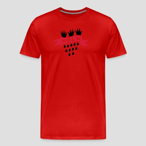 Köln Wappen - Männer Premium T-Shirt