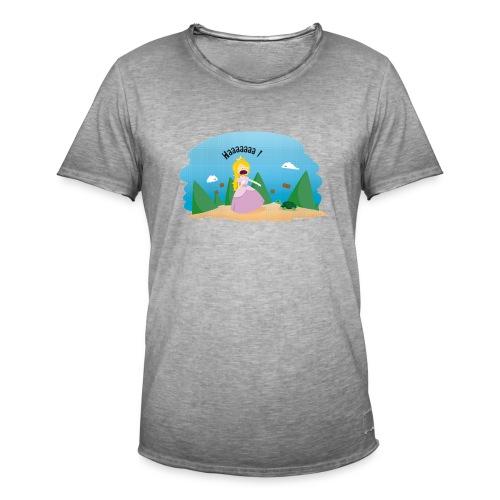 T-shirt Geek - De la phobie des tortues - T-shirt vintage Homme