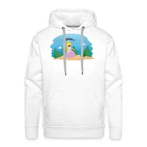 T-shirt Geek - De la phobie des tortues - Sweat-shirt à capuche Premium pour hommes