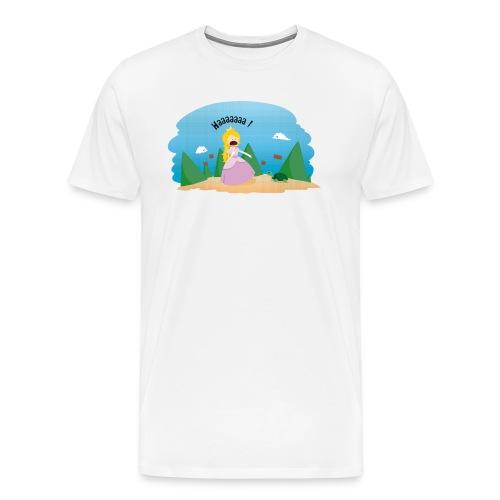 T-shirt Geek - De la phobie des tortues - T-shirt Premium Homme