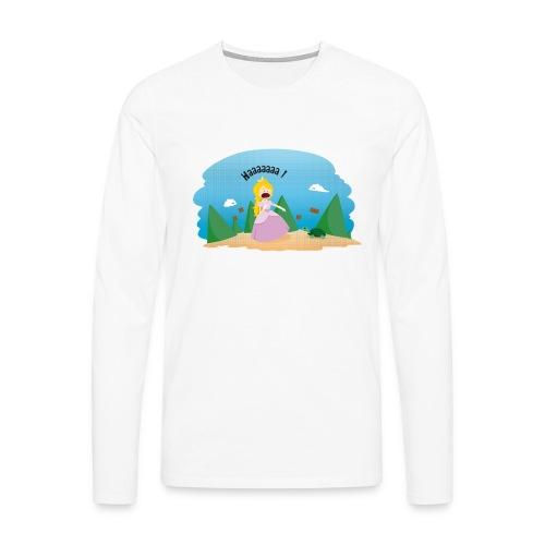 T-shirt Geek - De la phobie des tortues - T-shirt manches longues Premium Homme