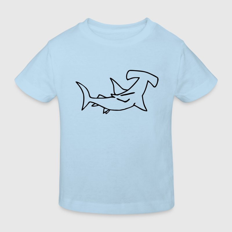 Hammerhead Shark Fish are Friends not Food Shirts - Kids' Organic T-shirt