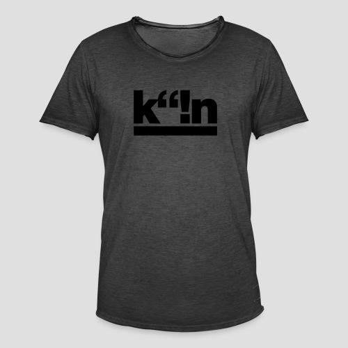 k!n | Gold - Männer Vintage T-Shirt