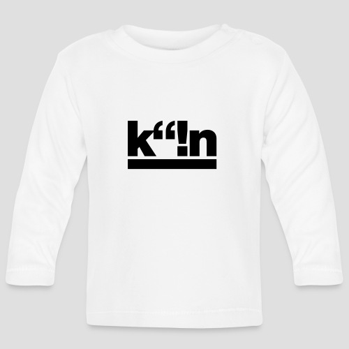 k!n | Gold - Baby Langarmshirt