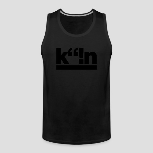 k!n | Gold - Männer Premium Tank Top