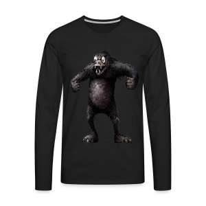 Super Ape - Men's Premium Longsleeve Shirt