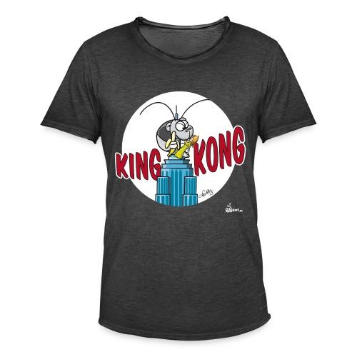 King Kong Garnele - Männer Vintage T-Shirt