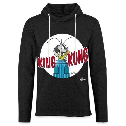 King Kong Garnele - Leichtes Kapuzensweatshirt Unisex