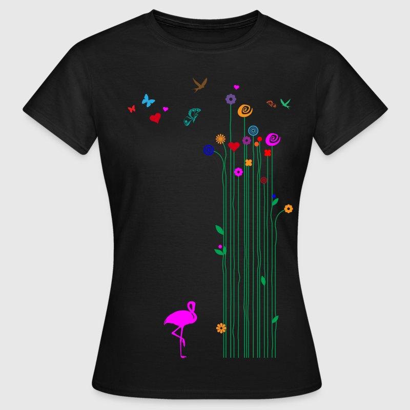 Frauenshirt Endlich Frühling - Frauen T-Shirt