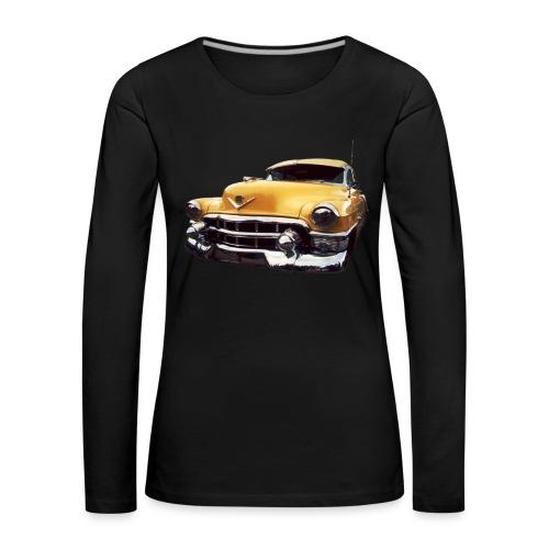 Cadillac 1953 - Frauen Premium Langarmshirt