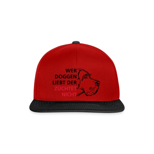 Wer Doggen liebt - Snapback Cap