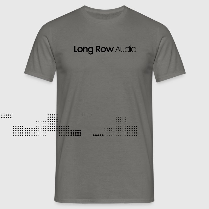 Long Row Audio Logo T-Shirts - Men's T-Shirt