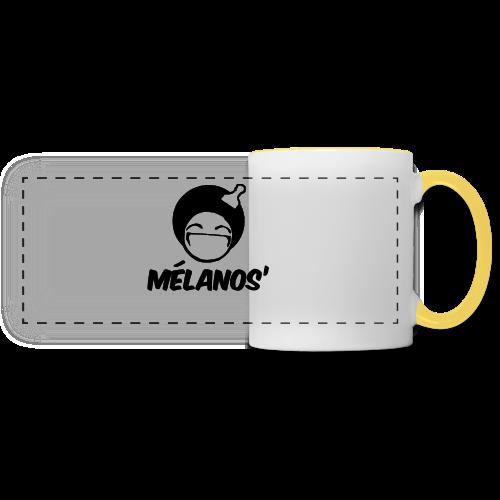 Gourde Mélanos' - Mug panoramique contrasté et blanc