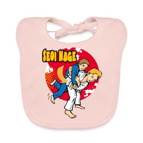 Schulterwurf Judoaction Kids - Baby Bio-Lätzchen