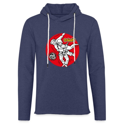 Judotechnik O-Goshi - Leichtes Kapuzensweatshirt Unisex