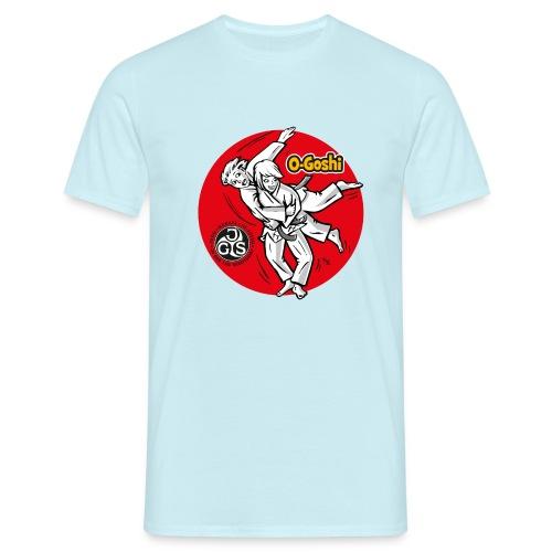 Judotechnik O-Goshi - Männer T-Shirt