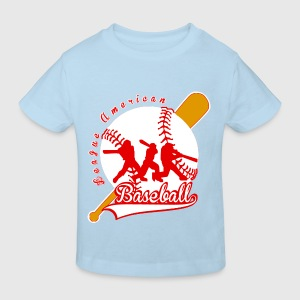baseball league american Shirts - Kinderen Bio-T-shirt