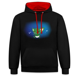 T-shirt Geek - Baby Yodi - Sweat-shirt contraste