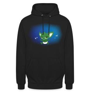T-shirt Geek - Baby Yodi - Sweat-shirt à capuche unisexe