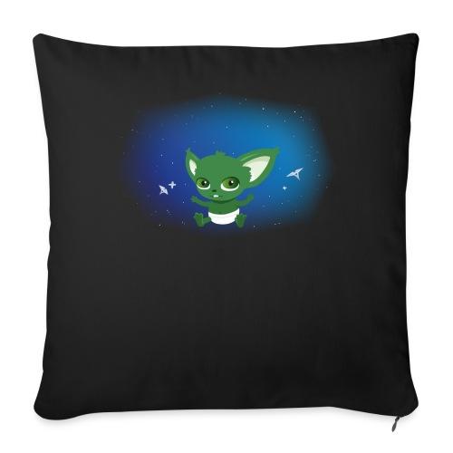 T-shirt Geek - Baby Yodi - Housse de coussin décorative 44x 44cm