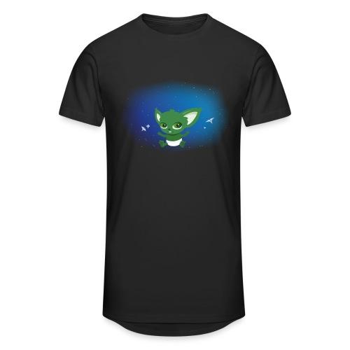 T-shirt Geek - Baby Yodi - T-shirt long Homme