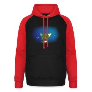 T-shirt Geek - Baby Yodi - Sweat-shirt baseball unisexe