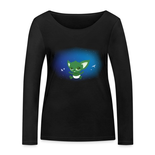 T-shirt Geek - Baby Yodi - T-shirt manches longues bio Stanley & Stella Femme