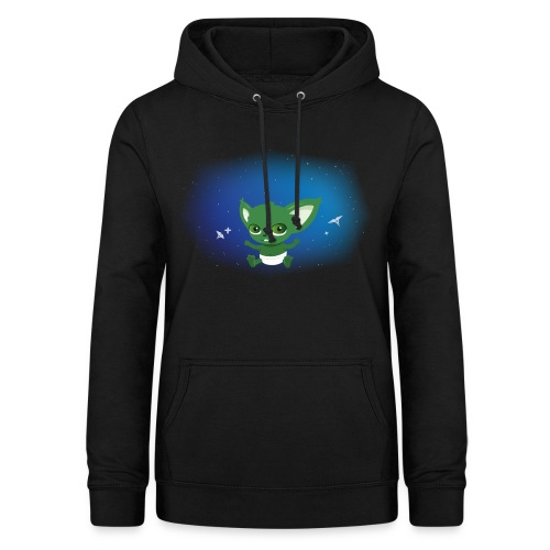 T-shirt Geek - Baby Yodi - Sweat à capuche Femme