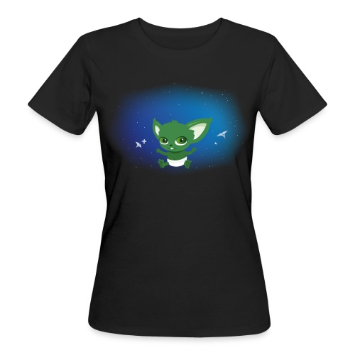 T-shirt Geek - Baby Yodi - T-shirt bio Femme
