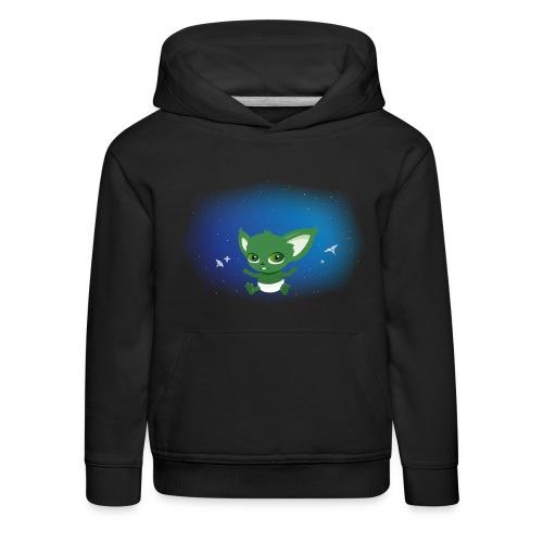T-shirt Geek - Baby Yodi - Pull à capuche Premium Enfant