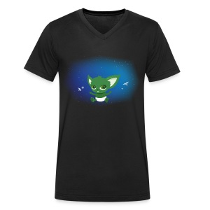 T-shirt Geek - Baby Yodi - T-shirt bio col V Stanley & Stella Homme