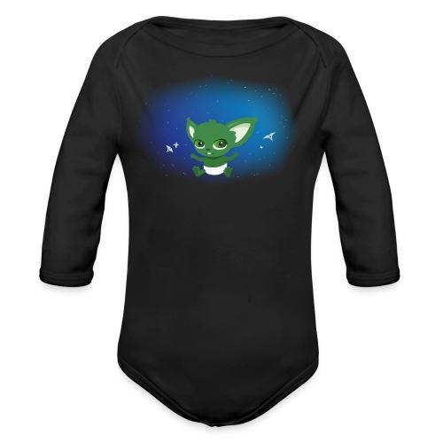 T-shirt Geek - Baby Yodi - Body bébé bio manches longues