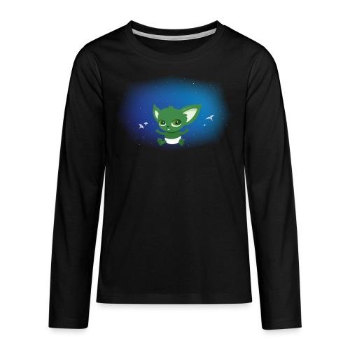 T-shirt Geek - Baby Yodi - T-shirt manches longues Premium Ado
