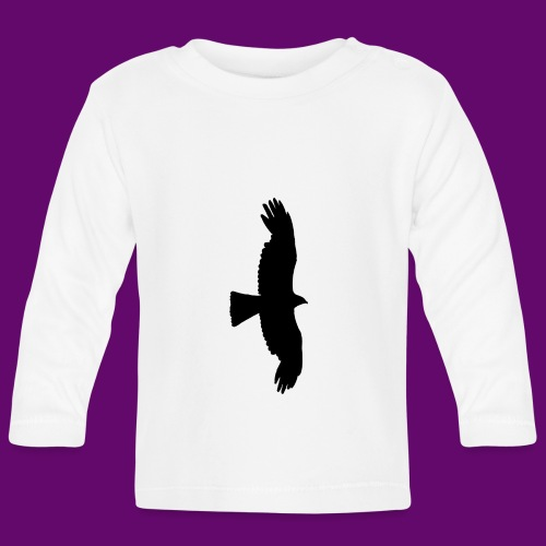 Aigle noir - T-shirt manches longues Bébé