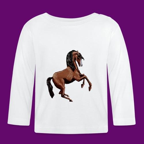 CHEVAL CABRE CRÉATION LOUIS RUNEMBERG - T-shirt manches longues Bébé