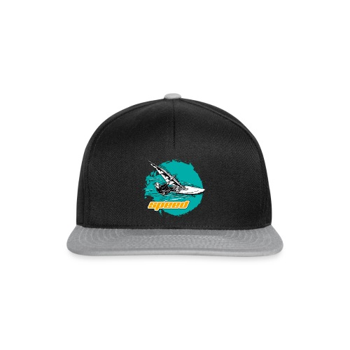 Speed Windsurfer Tuerkis - Snapback Cap
