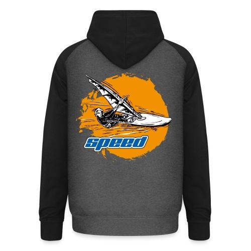 Speed Windsurfer - Unisex Baseball Hoodie