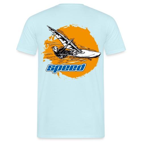 Speed Windsurfer - Männer T-Shirt