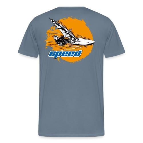 Speed Windsurfer - Männer Premium T-Shirt