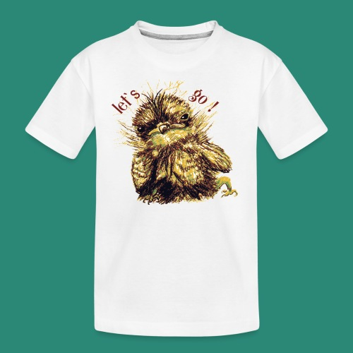 let`s goFrauen-T-Shirt - Teenager Premium Bio T-Shirt