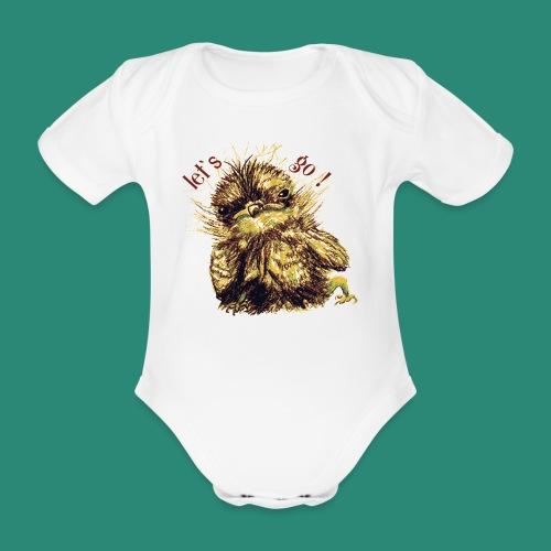 let`s goFrauen-T-Shirt - Baby Bio-Kurzarm-Body